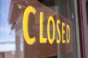 Closed Sign in Yellowstone from Flickr via Wylio