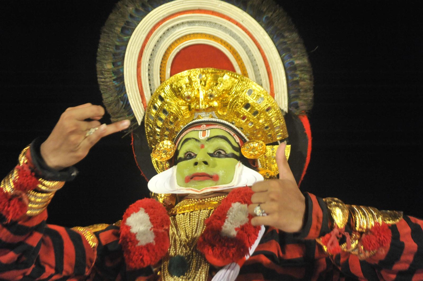 : Margi Madhu : Koodiyattam - Bali Vadham