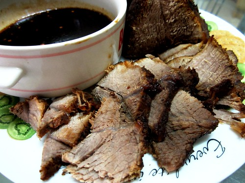 Stewed wild boar - sliced