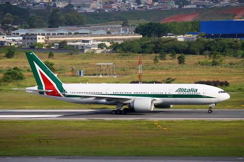 Alitalia | Boeing 777-200ER @ SBGR