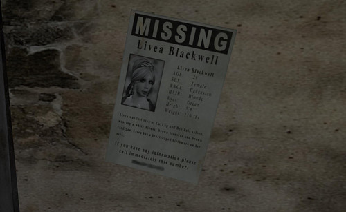 Sanity Falls - Missing Person