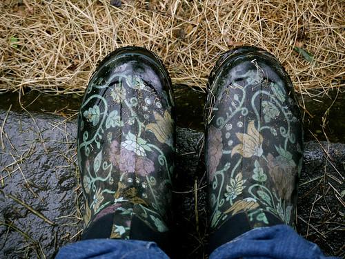 Barn boots