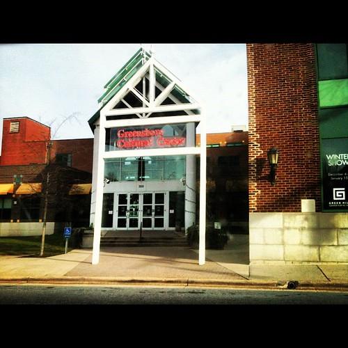 Green Hill Center NC Art • Greensboro Cultural Center by Greensboro NC