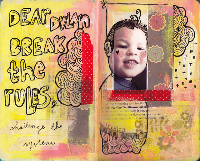Dylan & Elliot Art Journal - p6