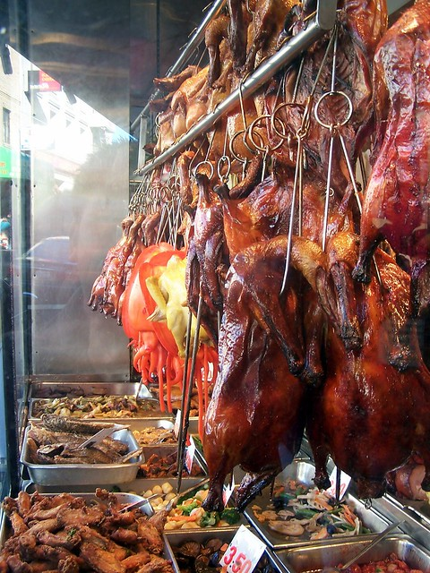 Roasted duck, Chinatown