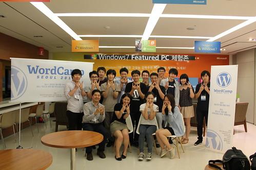 WordCamp Seoul 2012 staff