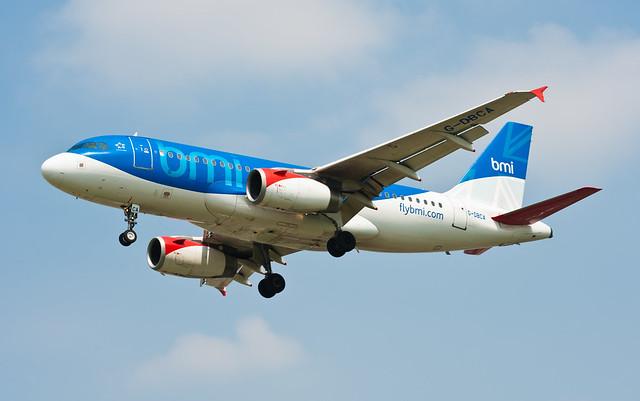 BMI Airbus A319-131