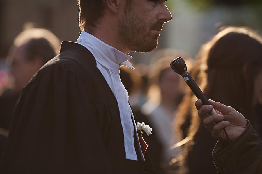 Marche silencieuse des « juristes togés à l'appui » [photos Thien V]