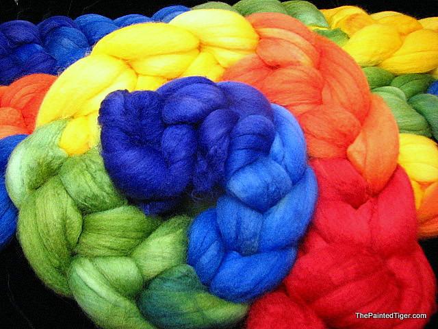 Rainbow - Superwash Merino Wool