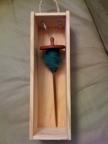 Traveling spindle