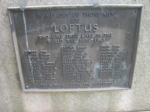 Loftus War Memorial