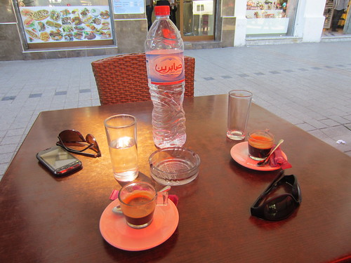 coffee break in tunis