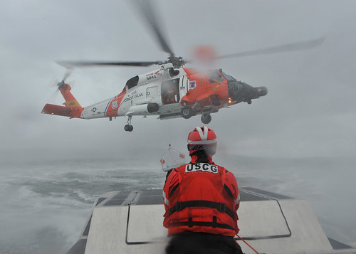 Aids to Navigation Team Kodiak conducts helicopter training by U.S. Coast Guard