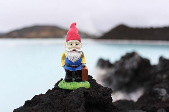 Cedric at the Blue Lagoon