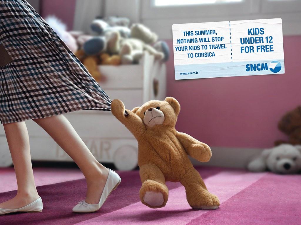 SNCM Travel - Teddy Bear