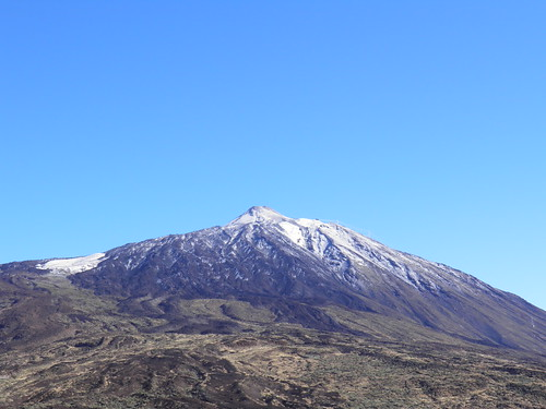 Седая вершина Тейде // White peak of Teide