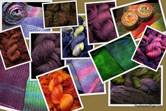 3-19-12 Hand Dyed Sock Yarn Update at The Painted Tiger