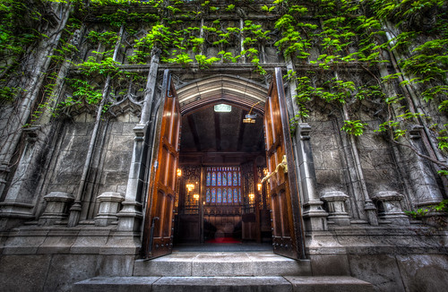 Entering Bond Chapel by Out Of Chicago
