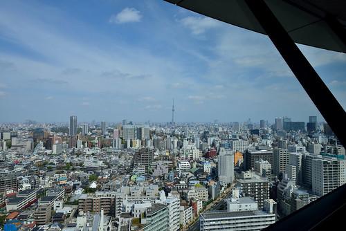 Day 106/366 : Tokyo Sky Tree & Spring Sky by hidesax