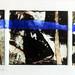 Above and Below, 28cm x 10cm, collagraph monoprint