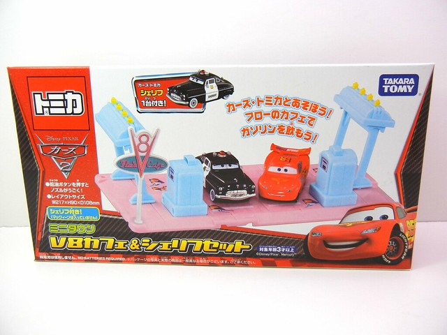 disney cars 2 tomica playsets (2)