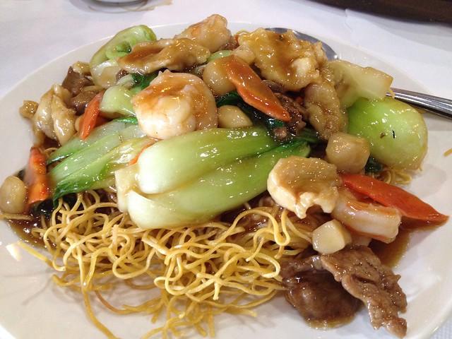 Shanghai pan fried noodles Xiao Long Bao Kitchen