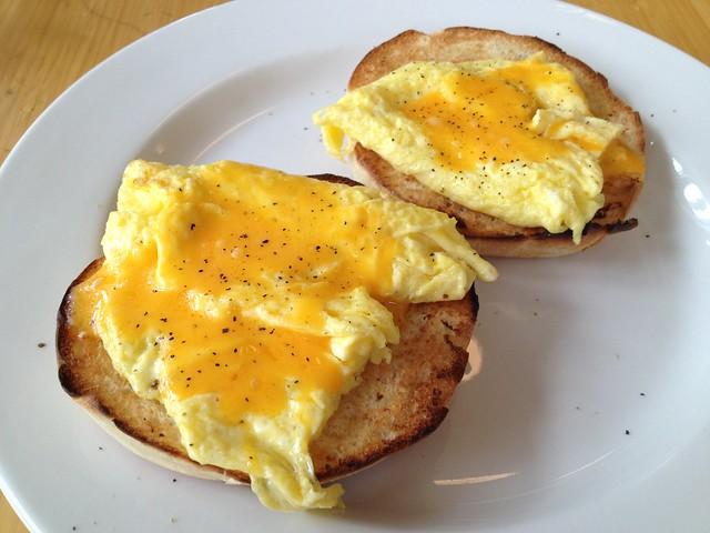Egg sandwich - Dolores Park Cafe