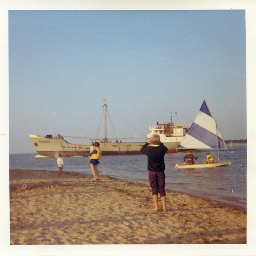 1960s - Passing Ship - Wells-next-to-sea by TempusVolat