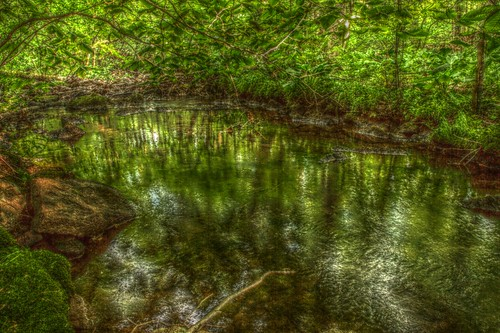 Jepps Brook deep pool HDR
