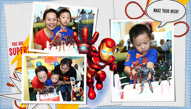 Happy Birthday Superhero Athan!