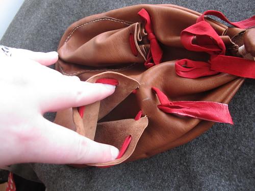 16th century German - bag - opening pocket