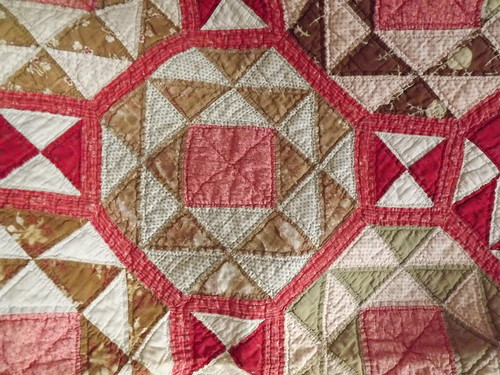 100 Year Old Quilt, Worn