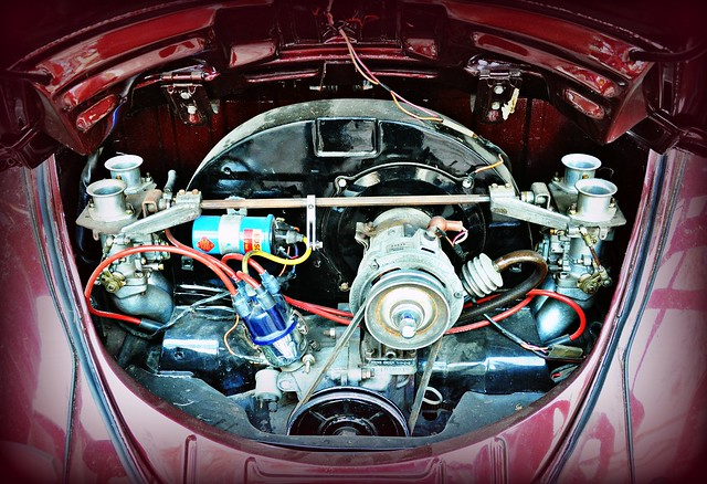VW with Twin Carburetor