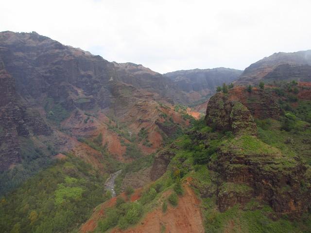 Waimea Canyon from heli 6