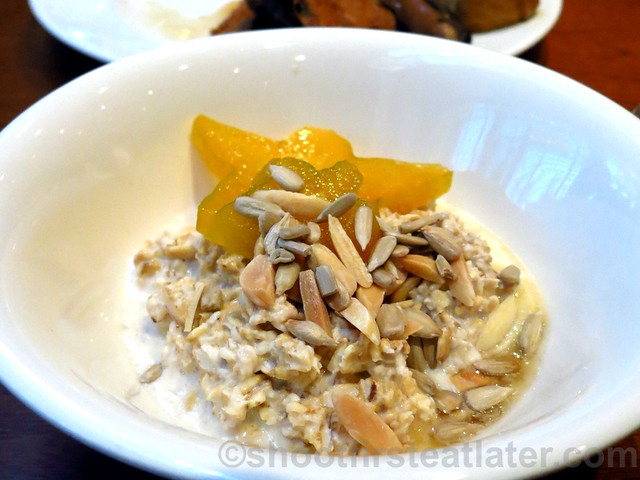 Buffet Breakfast at Cafe, Grand Hyatt Taipei- bircher muesli