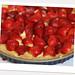 erdbeer-ricotta-tarte für die kochlehrerin-mama