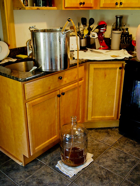 1st HomeBrew - Siphoning