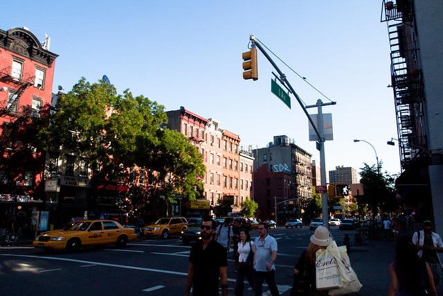 Evening in the East Village. Photo by Ellen Brenna Dougherty