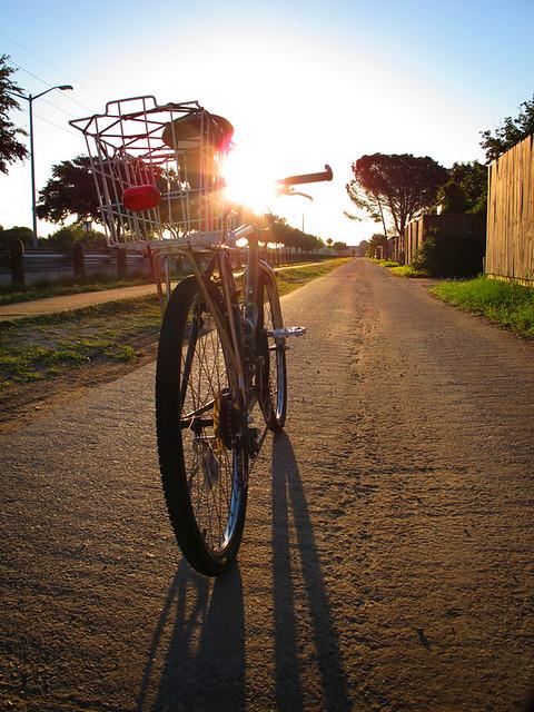 Riding Into The Sun