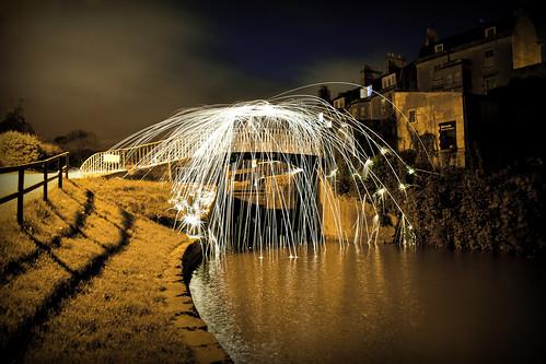 Bridge on Fire by Moniquezzz