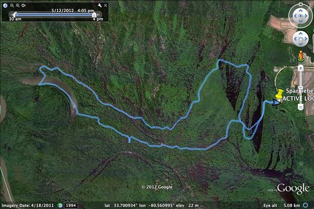 Sparkleberry Trip 5-12-2012
