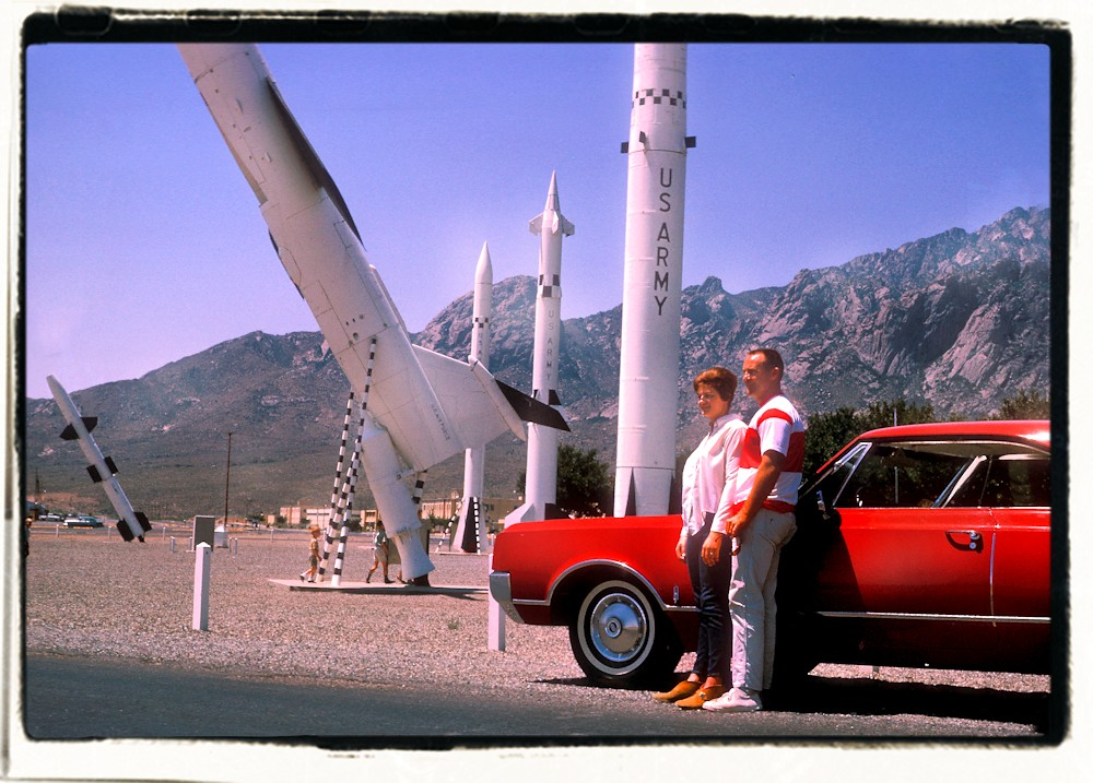 Red Olds and Missile Garden