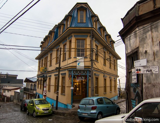 The architecture of Valparaiso is one of the best reasons to visit