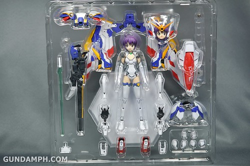 Armor Girls Project MS Girl Wing Gundam (EW Version) Review Unboxing (12)