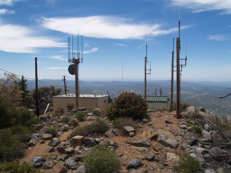 Radio Antennae on the Cuyamaca Peak Summit