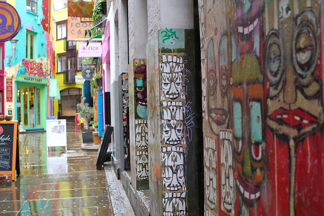 Graffiti in Neals Yard