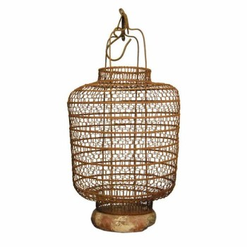 antique asian wire lantern 1st dibs