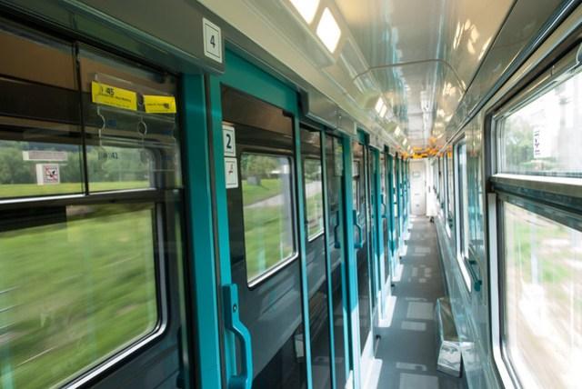 三段火車裡只有這一段是有劃到位的,那時選了包廂靠窗的座位