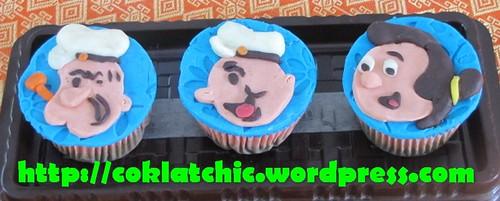 Cupcake Popeye