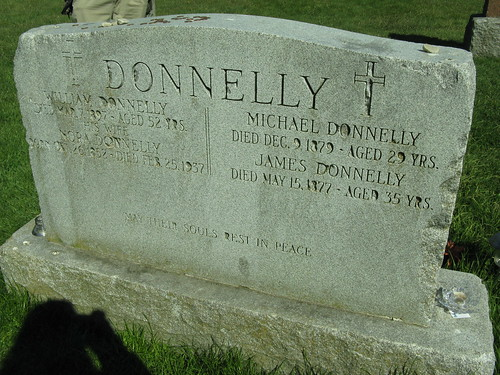 The Black Donnelly's Grave